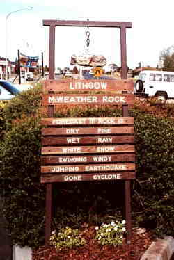 Lithgow Weather Rock