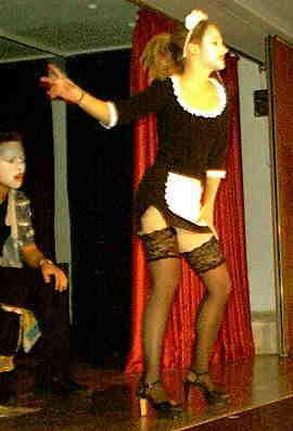 Trine, der erotische Geist der Familie, sorgte auch im Publikum für Verwirrung