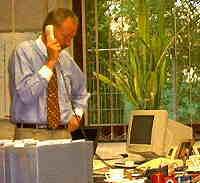 Achim Dittrich, einer der beiden Geschäftsführer